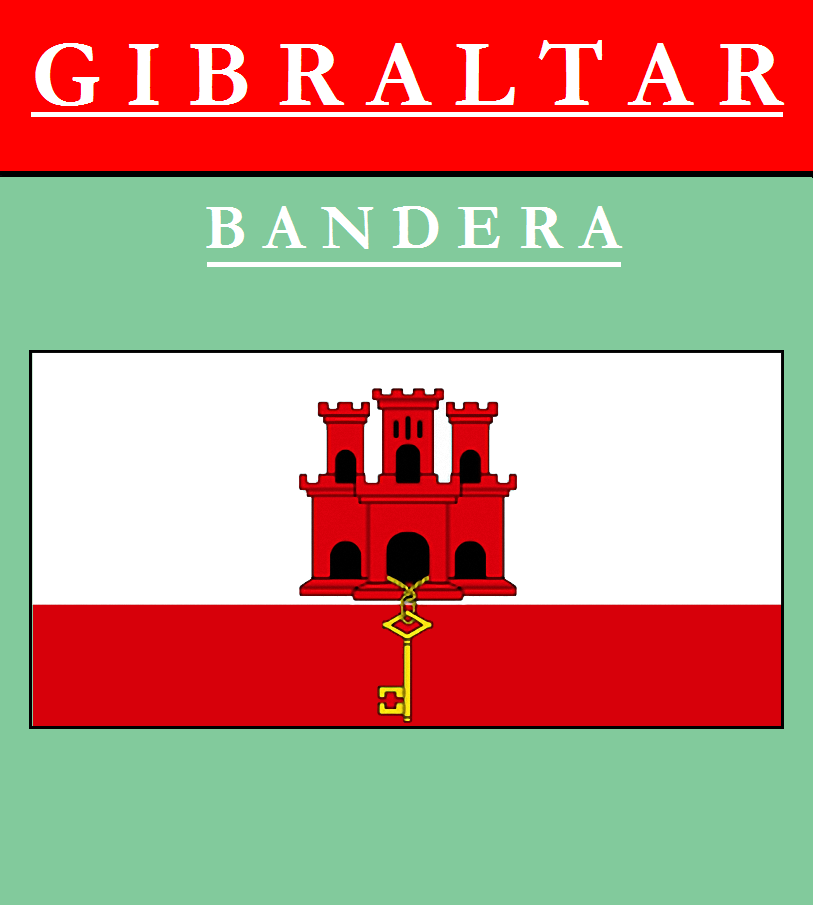 Escudo de BANDERA DE GIBRALTAR