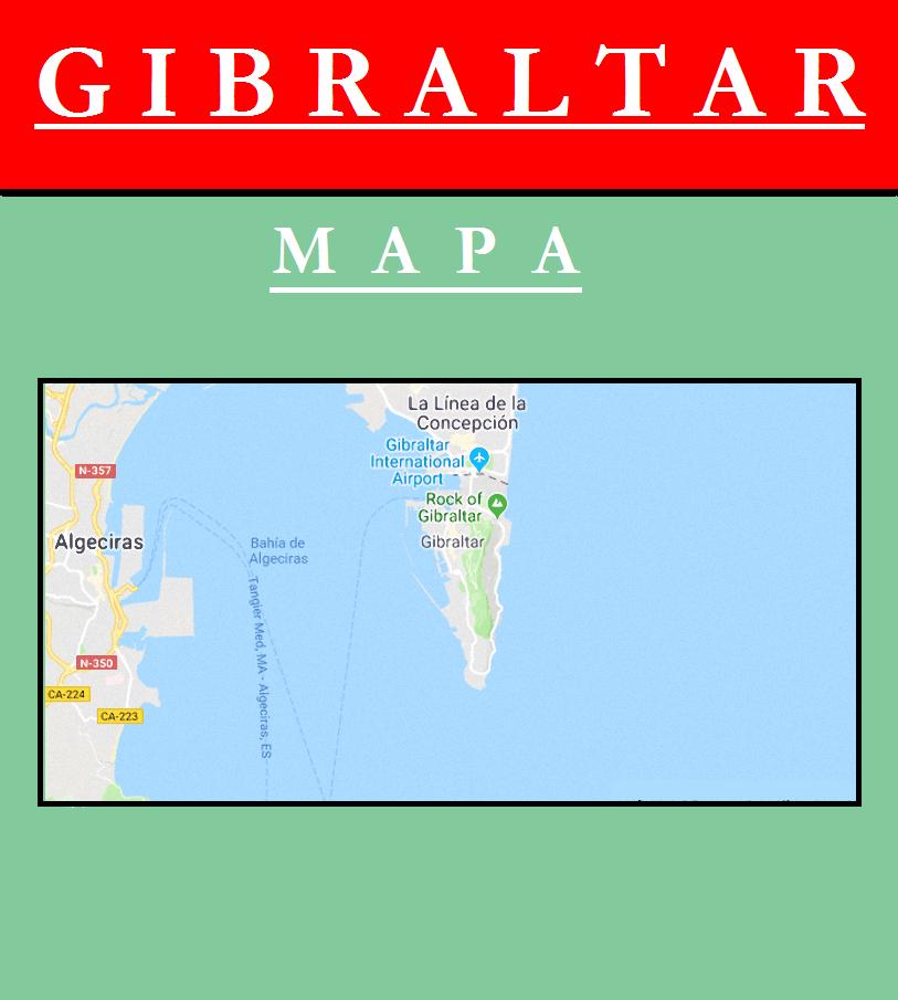Escudo de MAPA DE GIBRALTAR