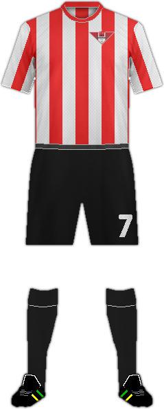 Equipación GIBRALTAR UNITED FC
