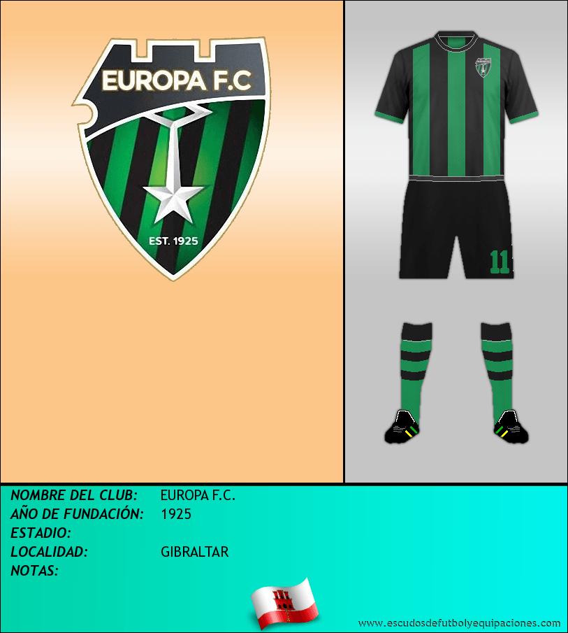 Escudo de EUROPA F.C.