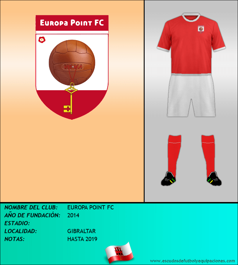 Escudo de EUROPA POINT FC