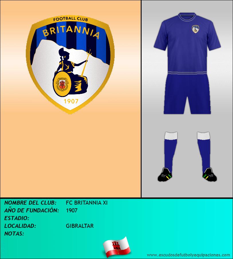 Escudo de FC BRITANNIA XI