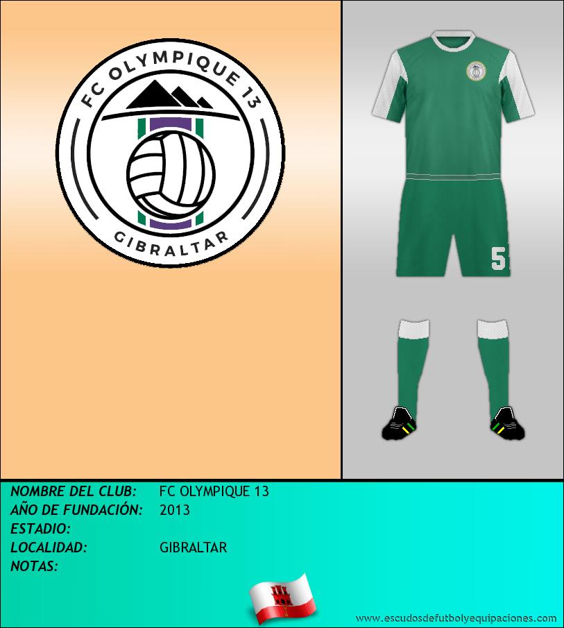 Escudo de FC OLYMPIQUE 13