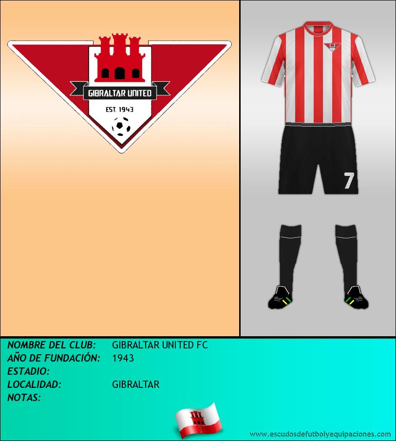 Escudo de GIBRALTAR UNITED FC