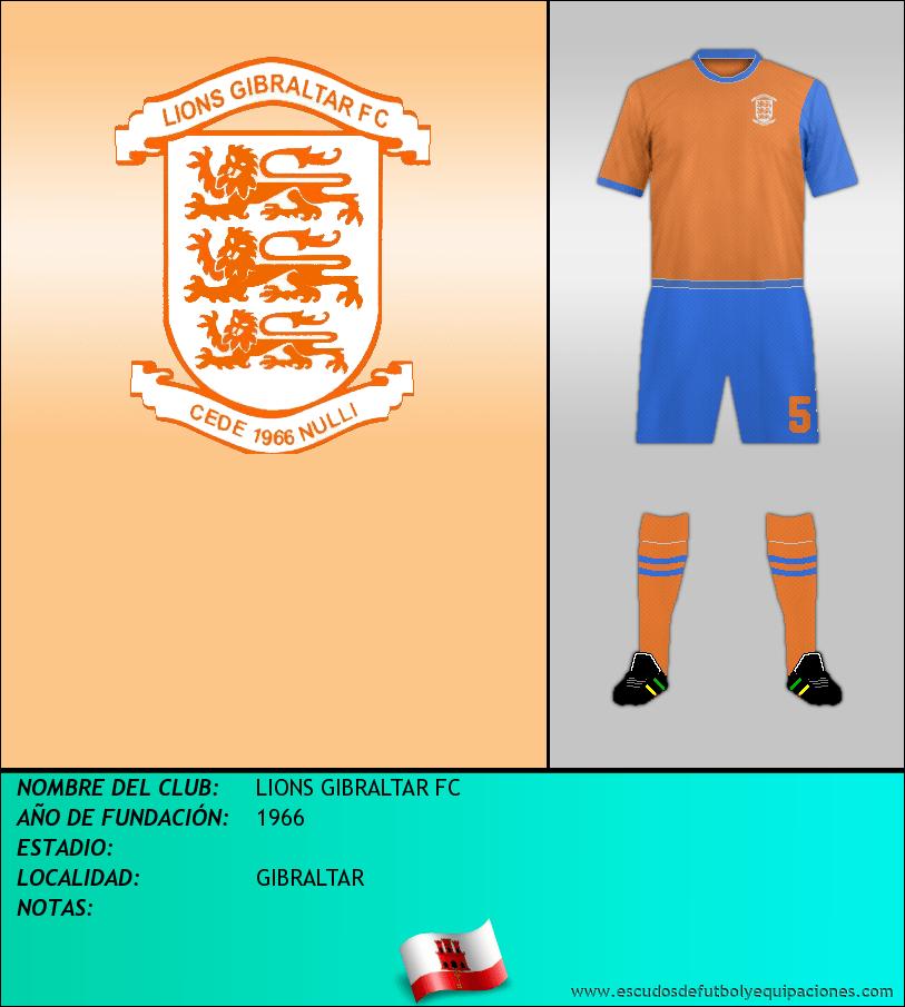 Escudo de LIONS GIBRALTAR FC