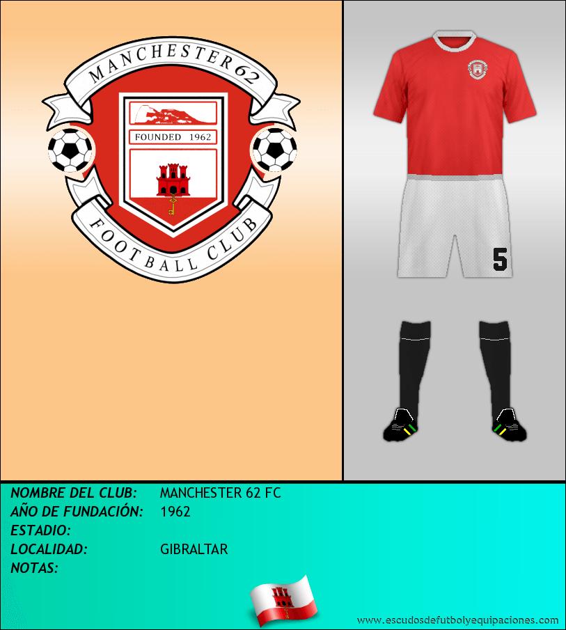 Escudo de MANCHESTER 62 FC