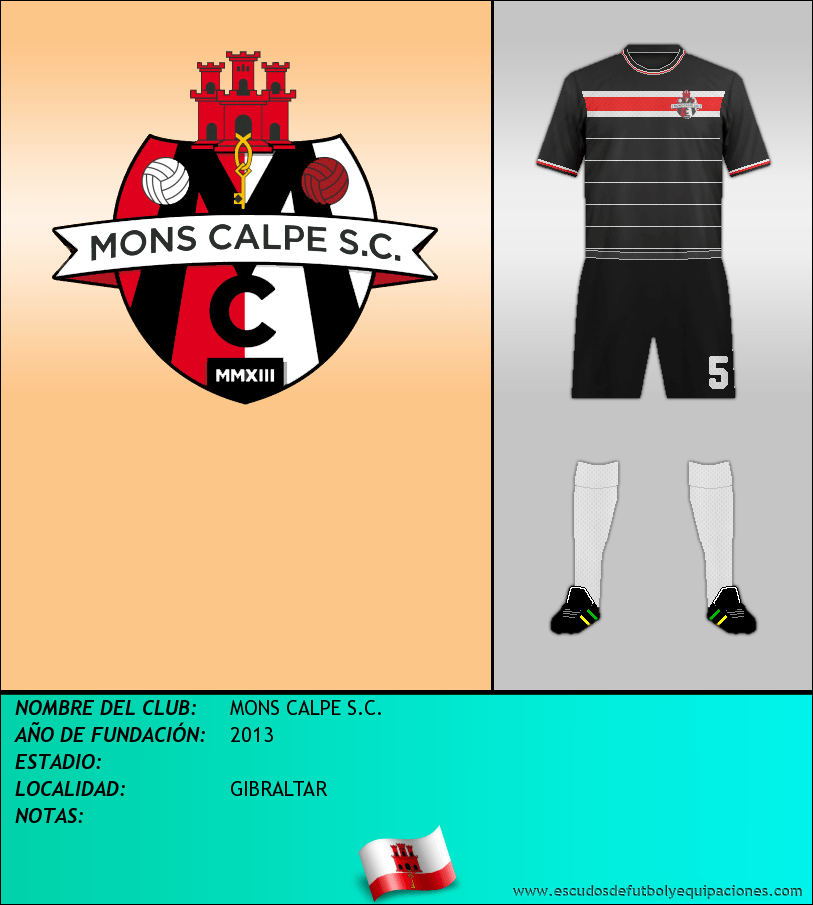 Escudo de MONS CALPE S.C.