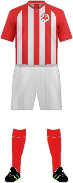 Equipación FC PLATANIAS