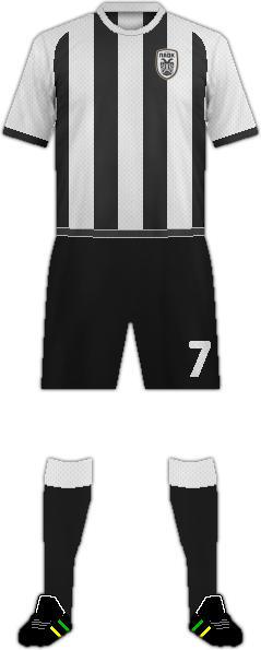 Equipación PAOK SALÓNICA F.C.