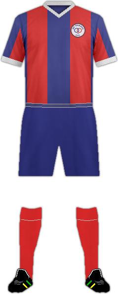 Equipación TRIKALA FC