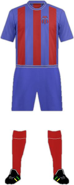 Equipación VERIA FC