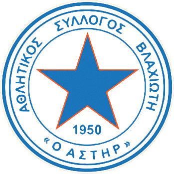 Escudo de AS ASTERAS VLACHIOTI (GRECIA)