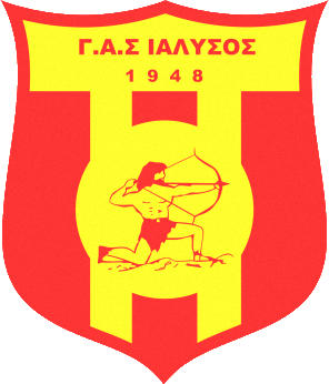 Escudo de GAS IALYSOS 1948 FC (GRECIA)