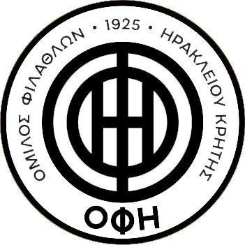 Escudo de OFI CRETA FC DESDE 2021 (GRECIA)