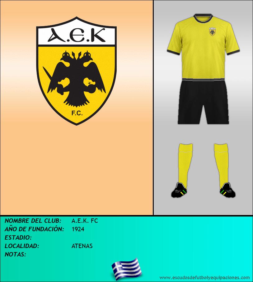 Escudo de A.E.K. FC