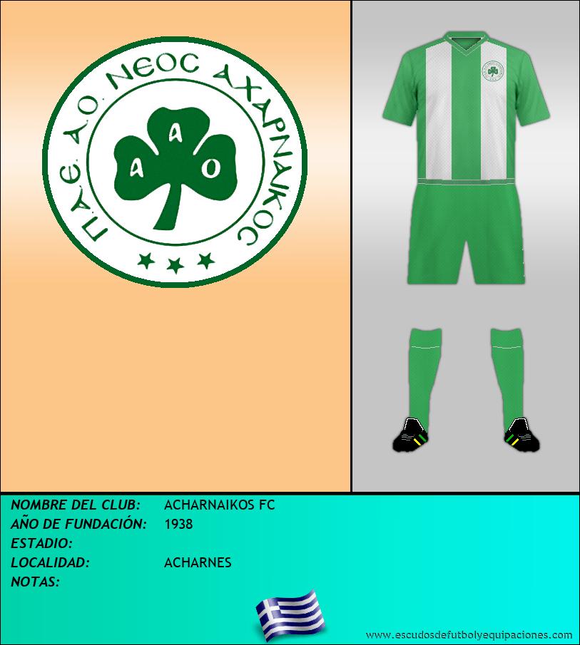 Escudo de ACHARNAIKOS FC