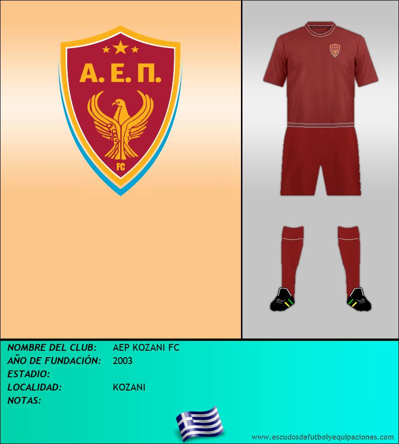 Escudo de AEP KOZANI FC