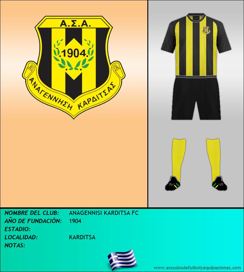 Escudo de ANAGENNISI KARDITSA FC