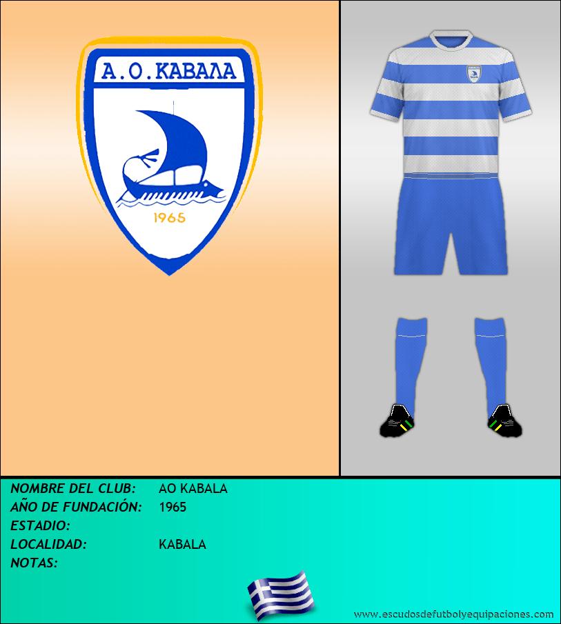 Escudo de AO KABALA