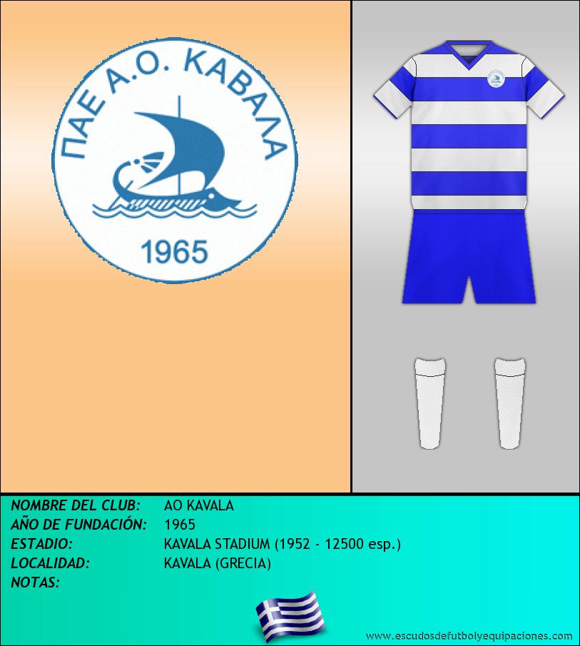 Escudo de AO KAVALA