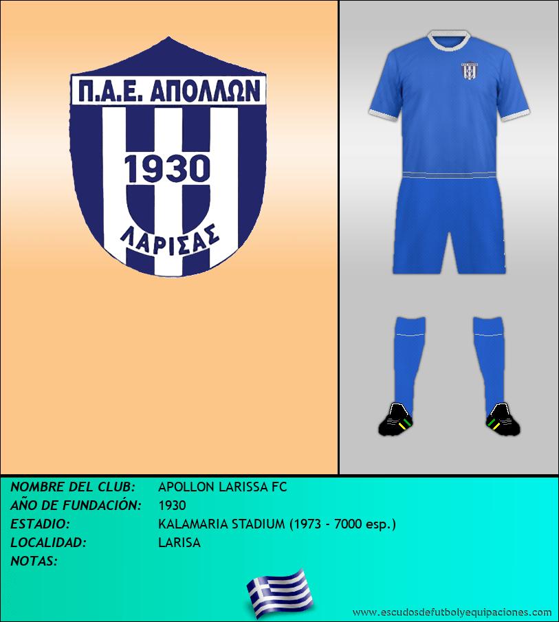 Escudo de APOLLON LARISSA FC