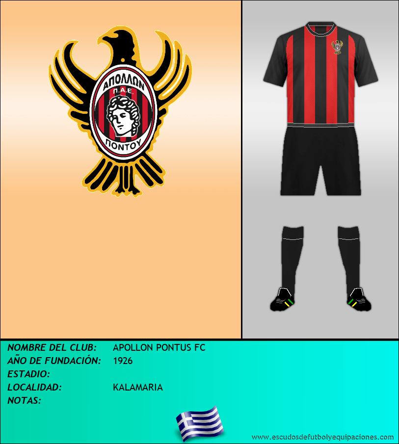 Escudo de APOLLON PONTUS FC