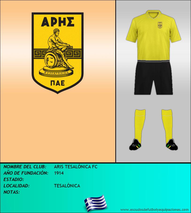 Escudo de ARIS TESALÓNICA FC