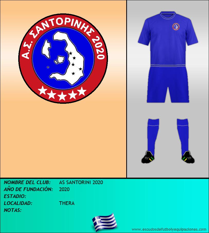 Escudo de AS SANTORINI 2020