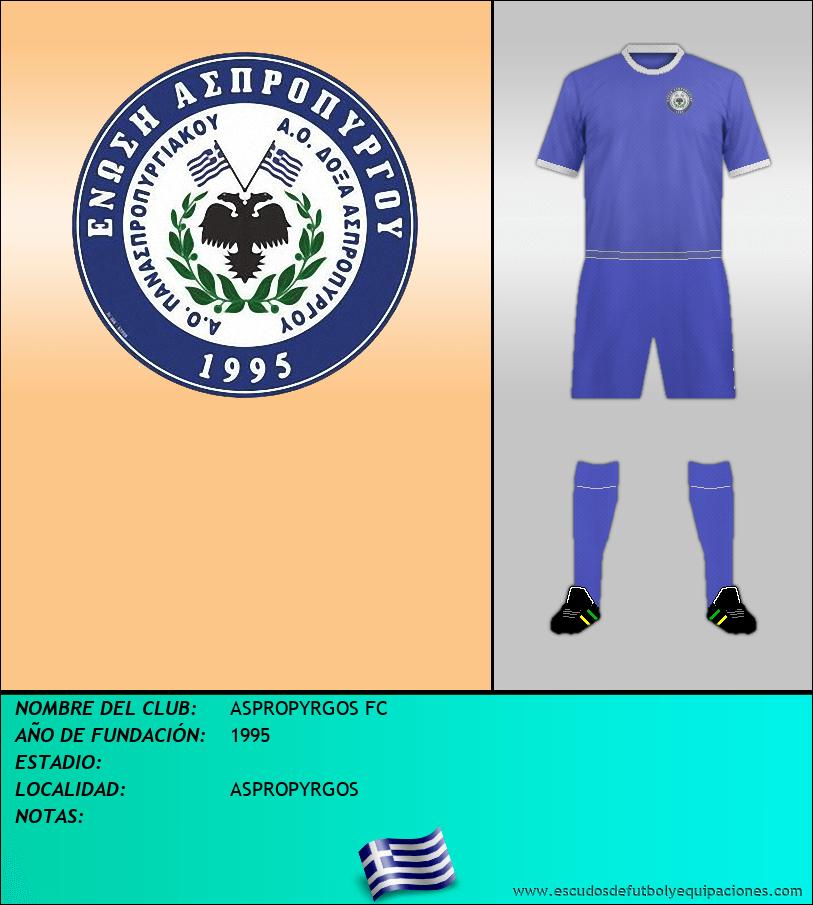 Escudo de ASPROPYRGOS FC