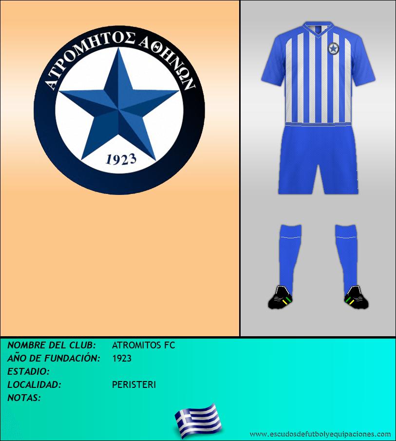 Escudo de ATROMITOS FC