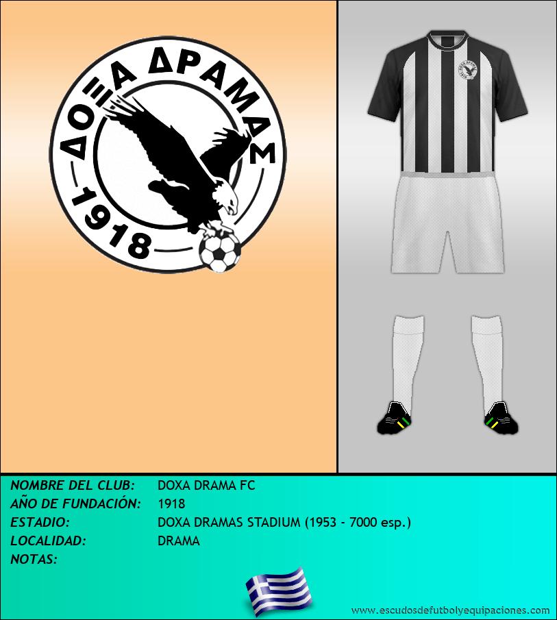 Escudo de DOXA DRAMA FC
