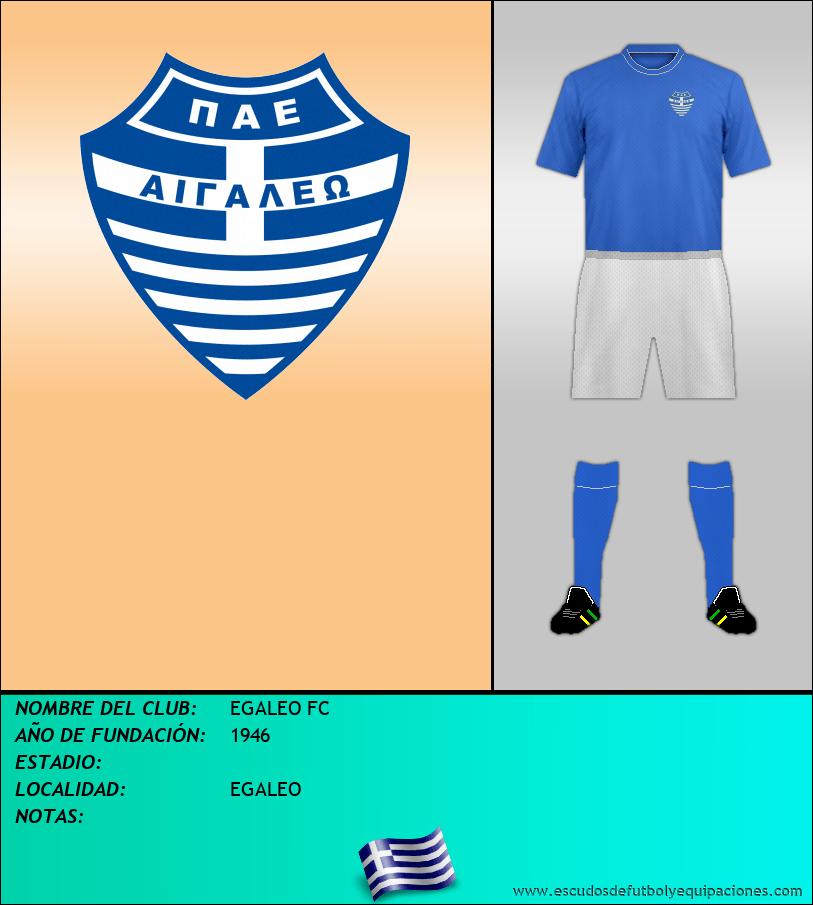 Escudo de EGALEO FC