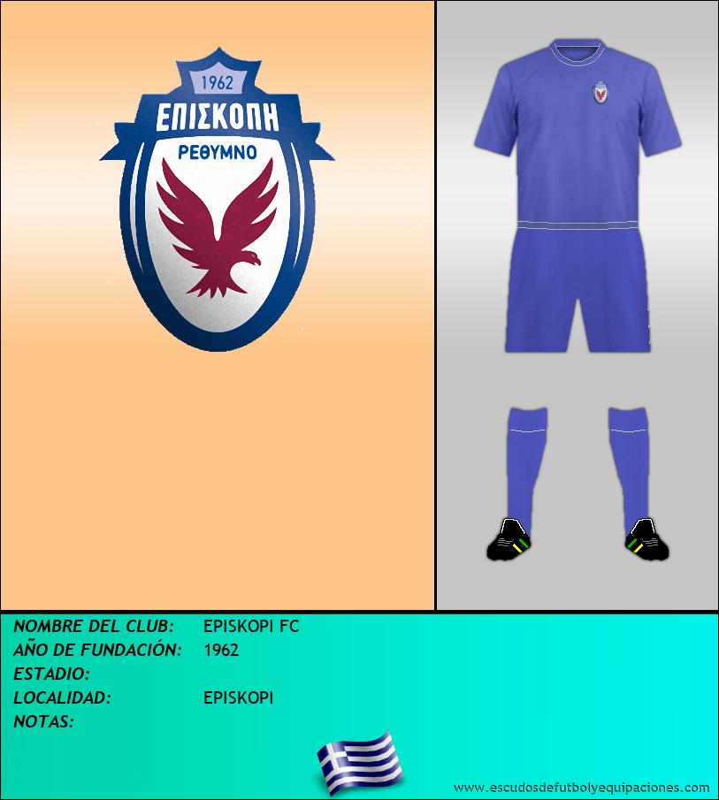 Escudo de EPISKOPI FC