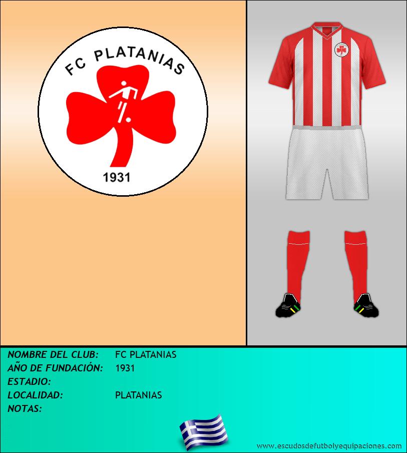 Escudo de FC PLATANIAS