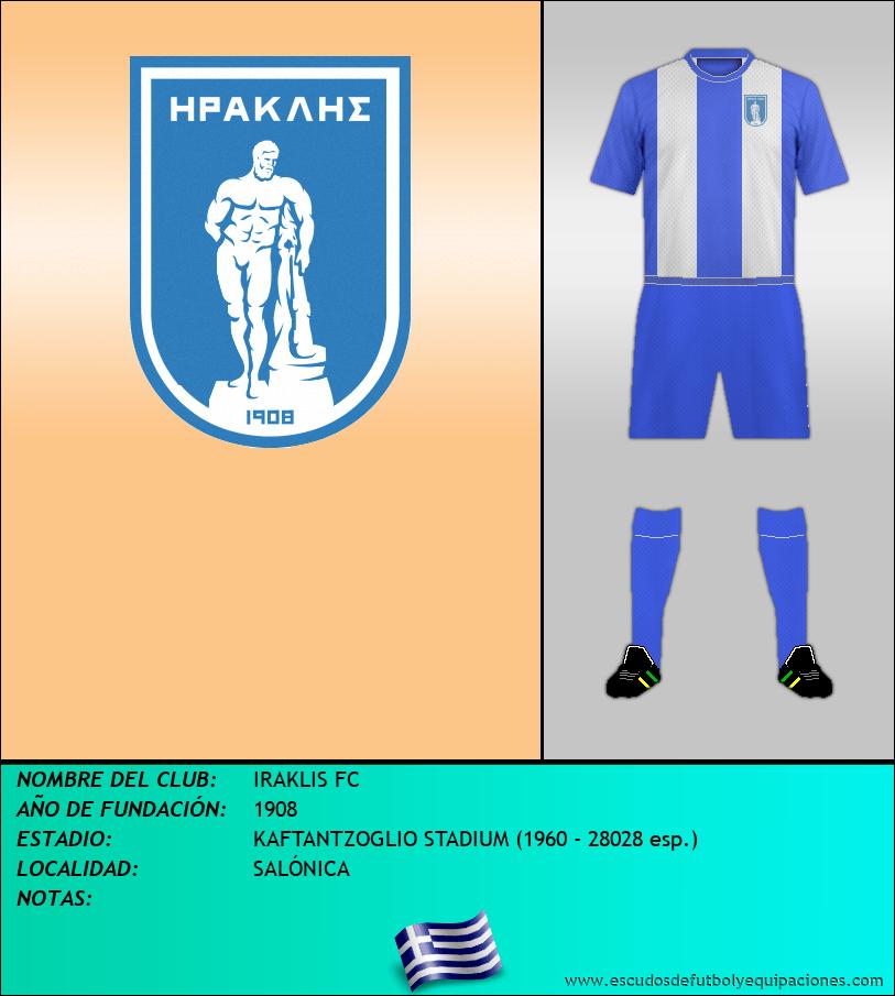 Escudo de IRAKLIS FC