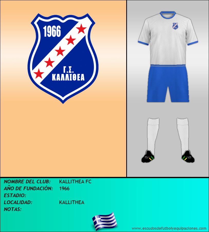 Escudo de KALLITHEA FC