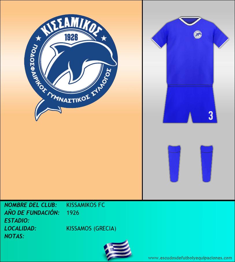 Escudo de KISSAMIKOS FC