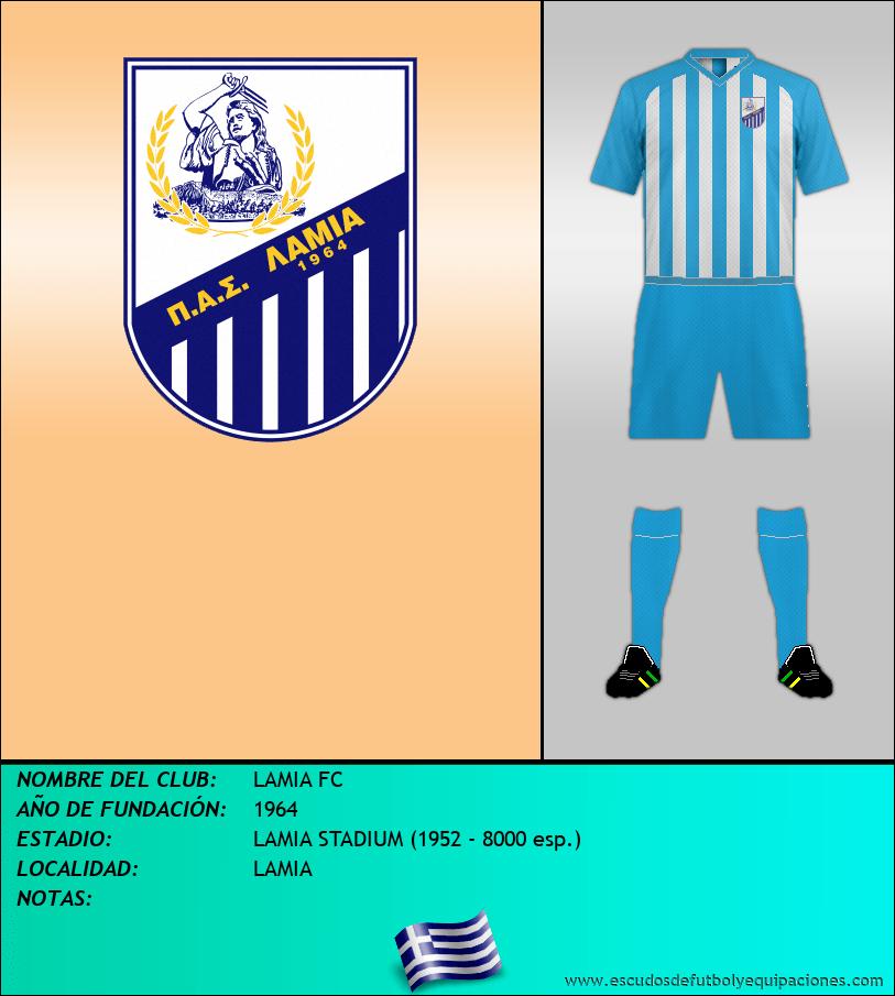 Escudo de LAMIA FC