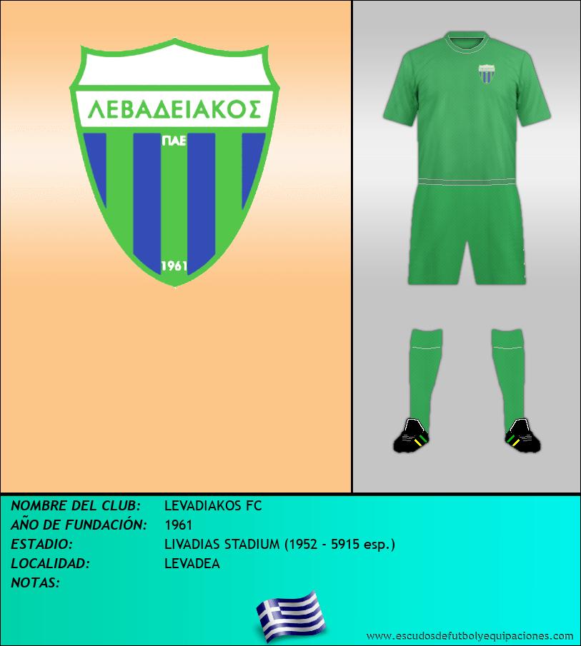 Escudo de LEVADIAKOS FC