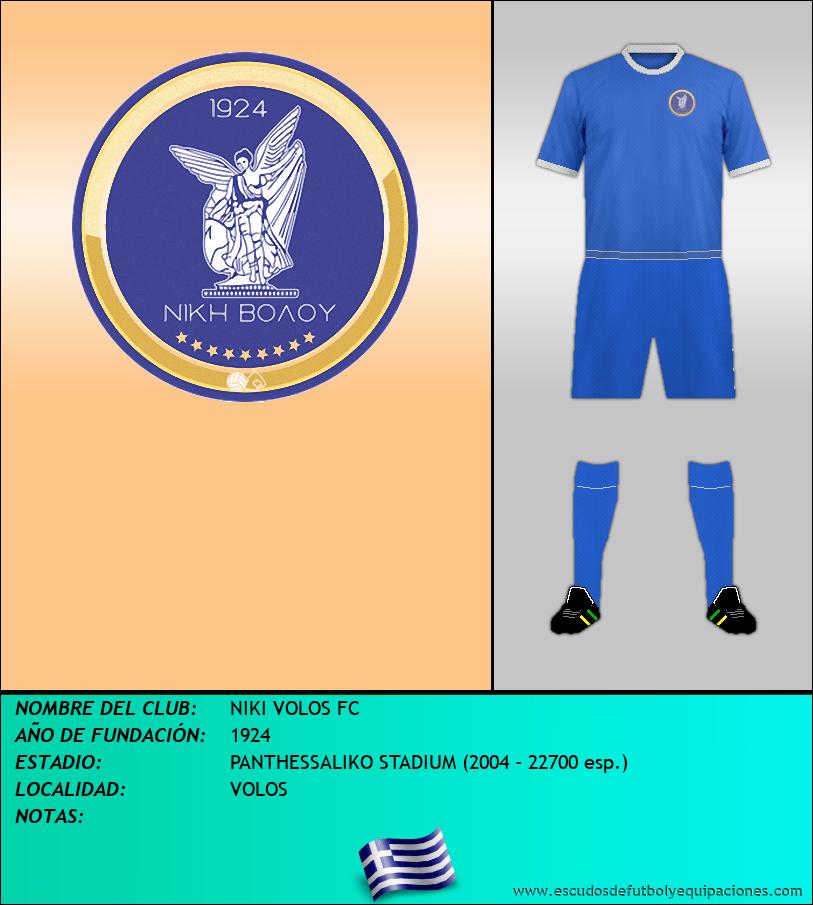 Escudo de NIKI VOLOS FC