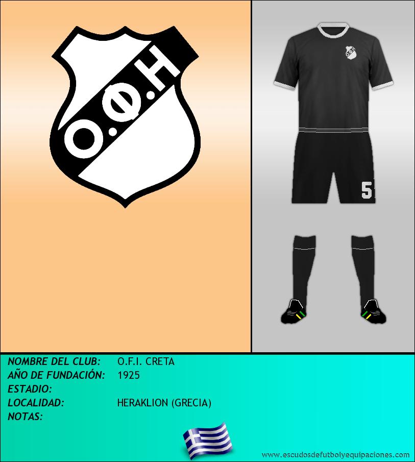 Escudo de O.F.I. CRETA