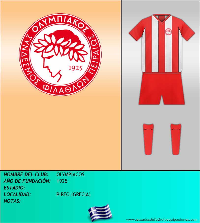 Escudo de OLYMPIACOS