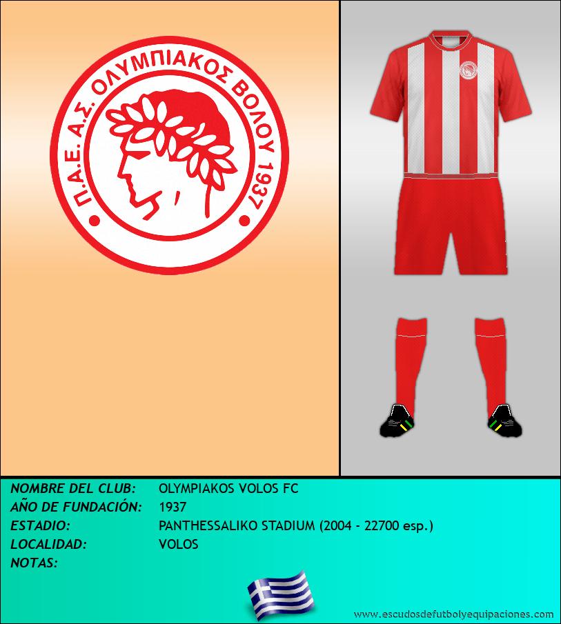 Escudo de OLYMPIAKOS VOLOS FC