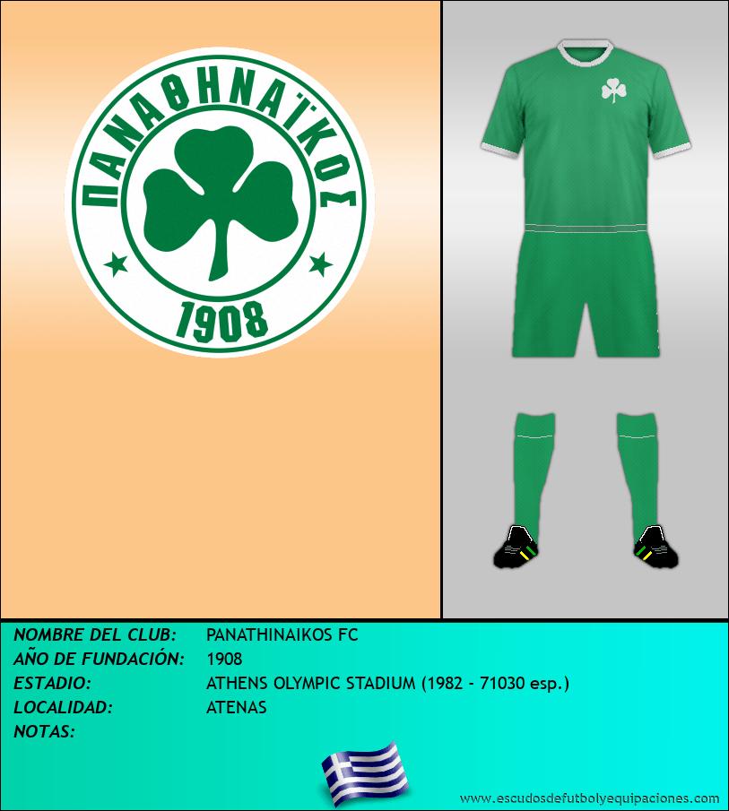 Escudo de PANATHINAIKOS FC