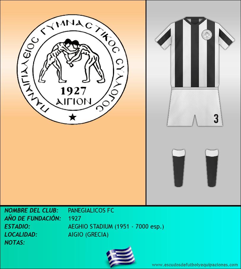 Escudo de PANEGIALICOS FC