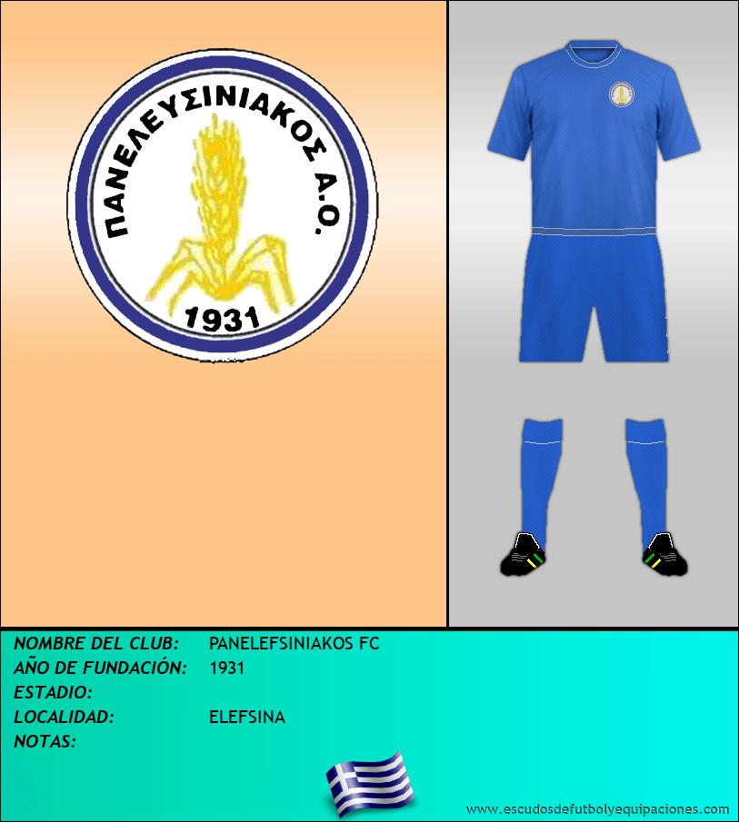 Escudo de PANELEFSINIAKOS FC