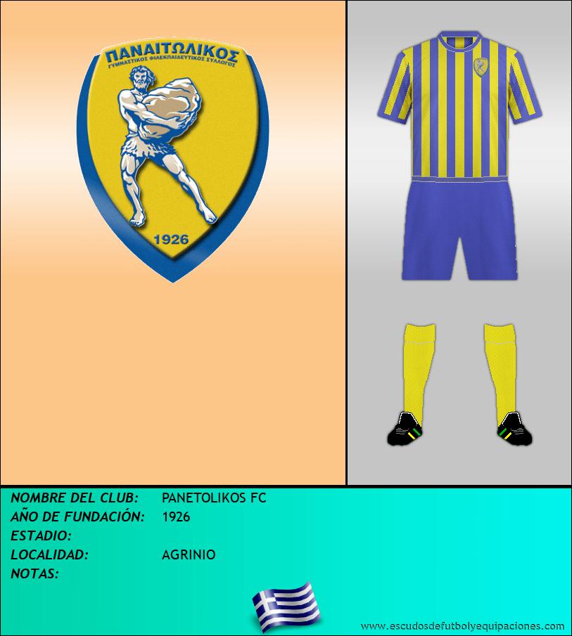 Escudo de PANETOLIKOS FC