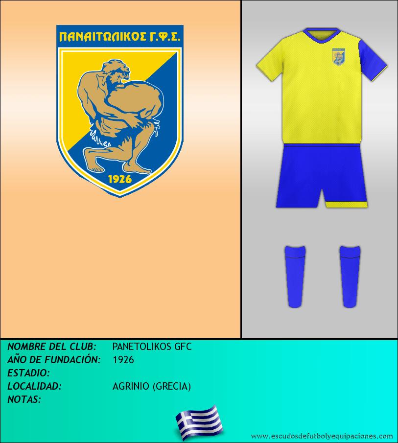 Escudo de PANETOLIKOS GFC
