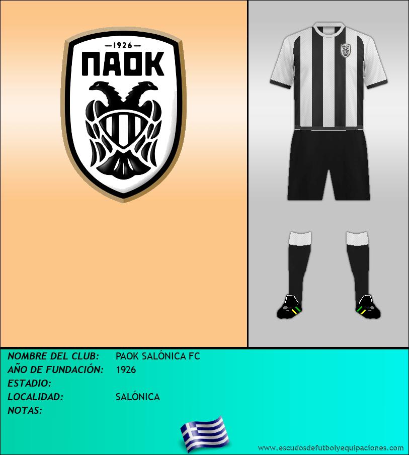 Escudo de PAOK SALÓNICA FC