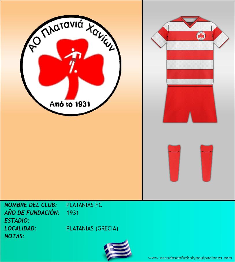 Escudo de PLATANIAS FC